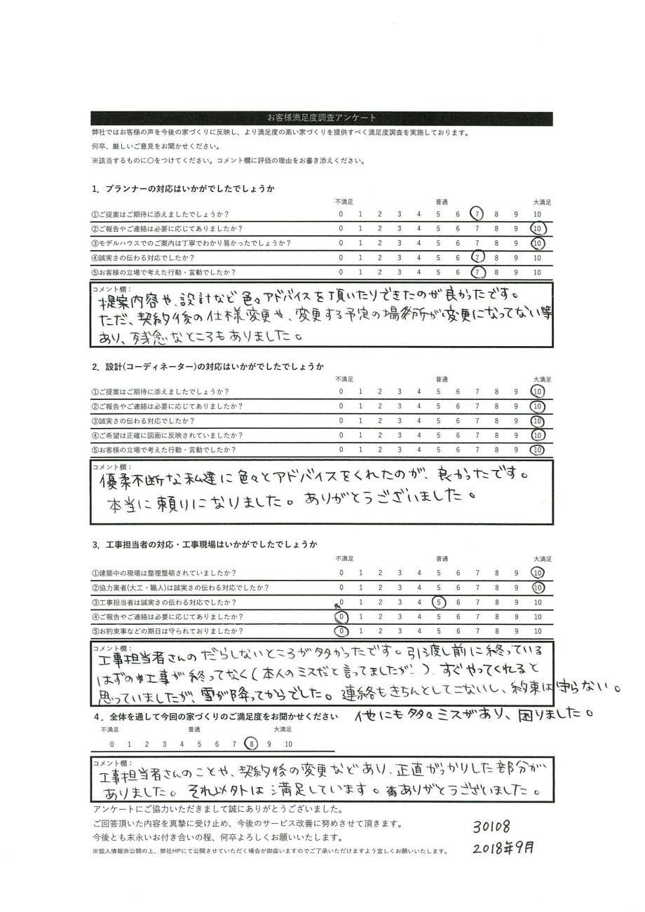 札幌市 K・R様