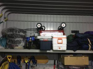 車庫スッキリ化計画