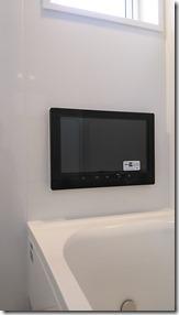 大型風呂TV